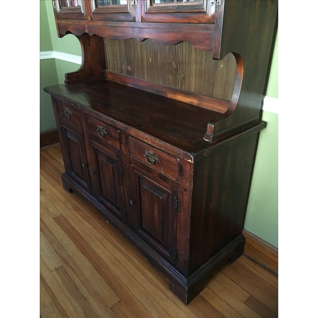 1970s Vintage Dining Room Hutch - Image 7 of 7