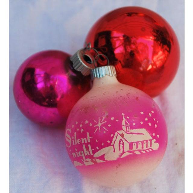 Vintage Christmas Ornaments - Set of 43 - Image 6 of 11