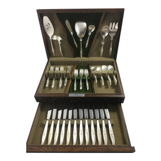 Vintage 1847 Rogers Bros. Silverplate Flatware For Sale