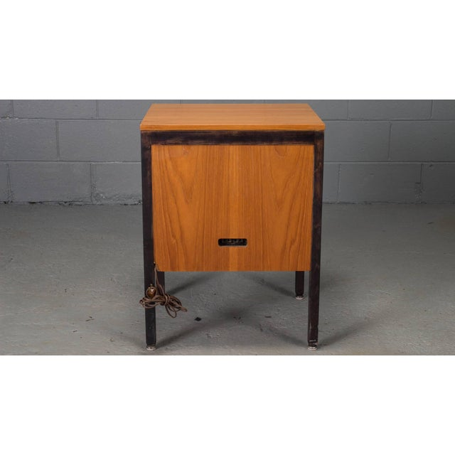 Herman Miller Small Steelframe Stereo Cabinet Side Table by George Nelson for Herman Miller For Sale - Image 4 of 9