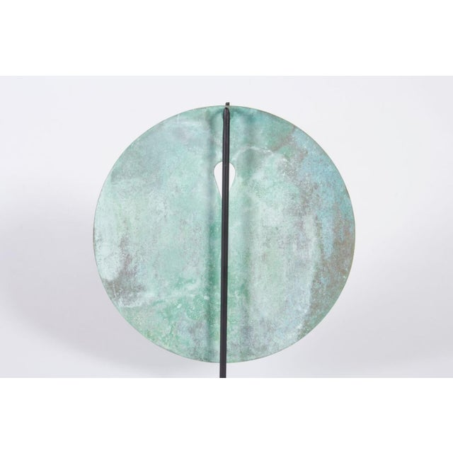 Bronze Harry Bertoia Gong, 1960s - Image 4 of 8