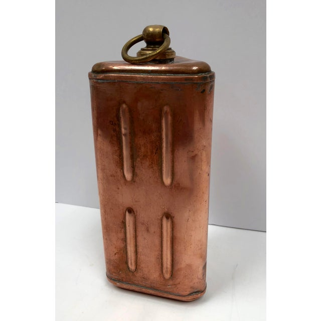 Late 1800s Vintage French Copper Bed Warmer/Ice Water Server | Chairish