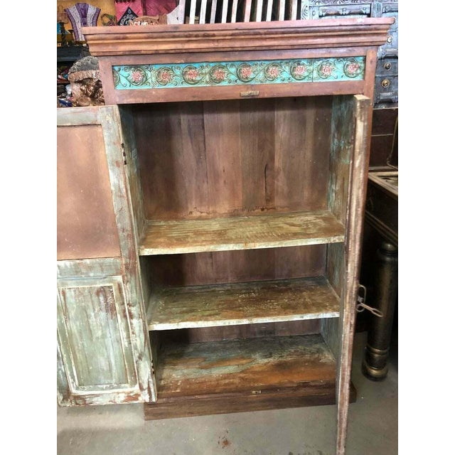 1920s 1920s Antique Carved Wood Armoire For Sale - Image 5 of 6