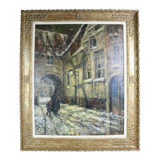 Street Scene by Albert Geudens For Sale