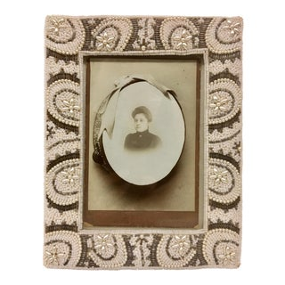 Antique Victorian Portrait Framed Photo