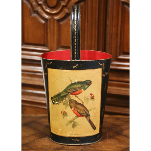 Place this colorful antique stand at your front door or in your mudroom to collect umbrellas, canes or other accessories....