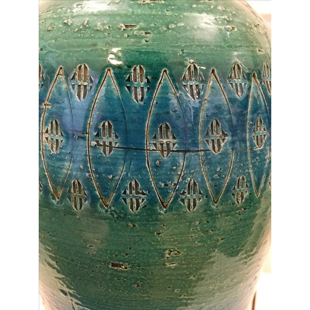 Bitossi Ceramiche Art Pottery Lamp - Image 9 of 9