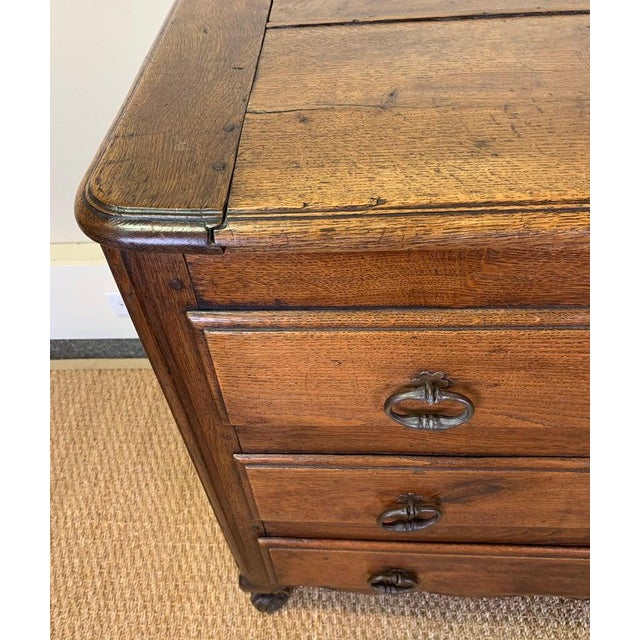 Wood Late 18th Century French Blanket Chest For Sale - Image 7 of 13