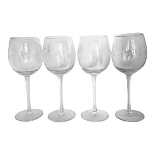 1950s Cordial Glasses - Set of 4 For Sale