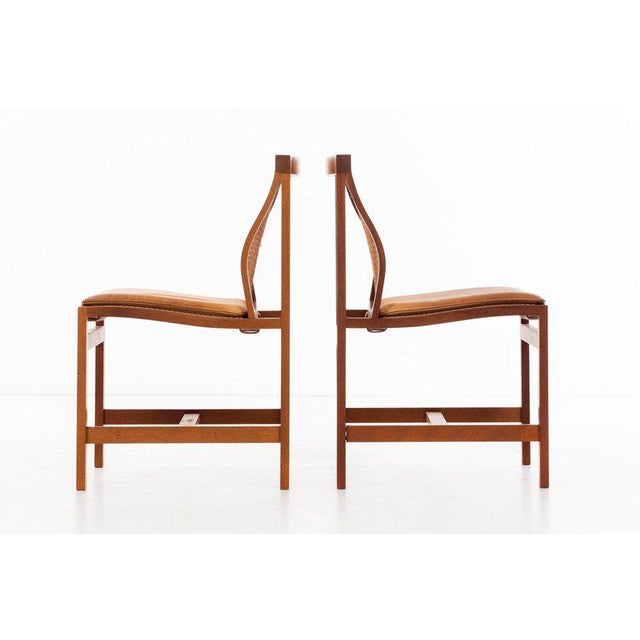Rud Thygesen & Johnny Sorensen Set of 8 Dining Chairs For Sale - Image 4 of 13