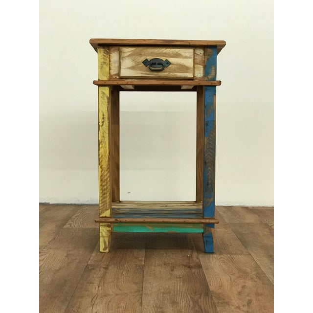 Versatile, whether it's used as a side table, accent table or as a nightstand this just spills cuteness. It features a...