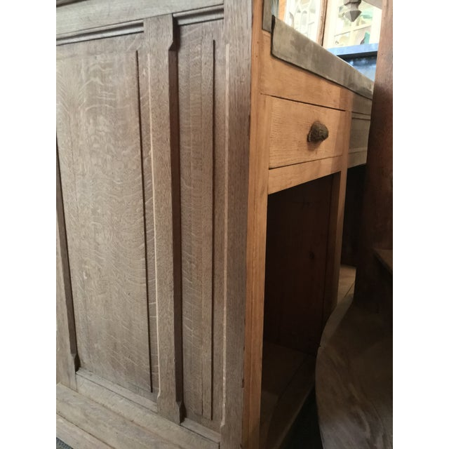 Tan 1910s French Provincial Montmartre Oak Cafe' Bar For Sale - Image 8 of 11