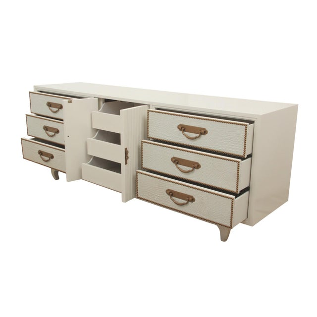 Americana American of Martinsville Ming Style Dresser For Sale - Image 3 of 8