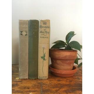 Antique Decorative Floral Books - Set of 3 Preview