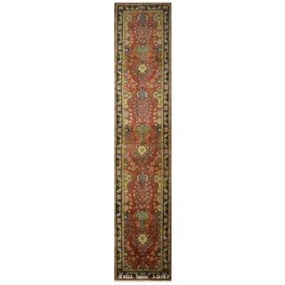 Vintage Persian Tabriz Rug - 3′2″ × 15′7″ For Sale