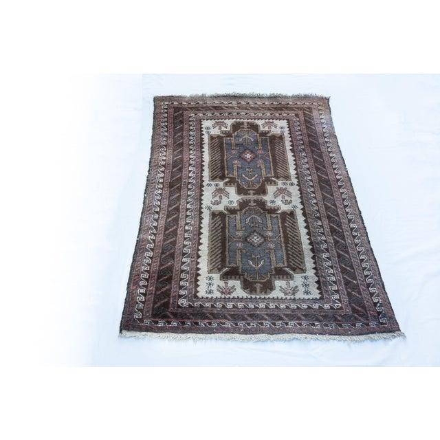 """Vintage Turkish Tribal Rug 'Asli' - 2'9""""x4'9"""" - Image 4 of 5"""