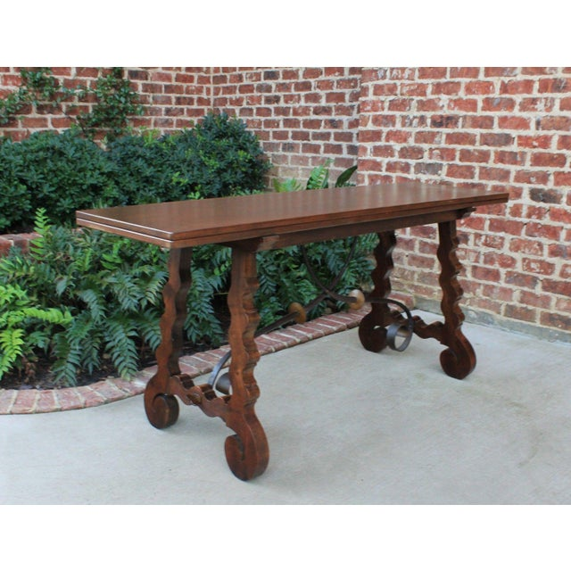 """""""Catalan"""" tables are of early 19th century Spanish origin (Catalonia) often characterized by distinctive thick rustic oak..."""