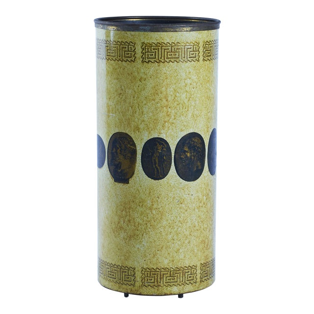 Piero Fornasetti Umbrella Stand, Early Example, Circa 1950's For Sale