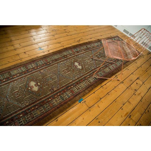 "Vintage Serab Rug Runner - 3'3"" x 16'8"" For Sale - Image 7 of 7"
