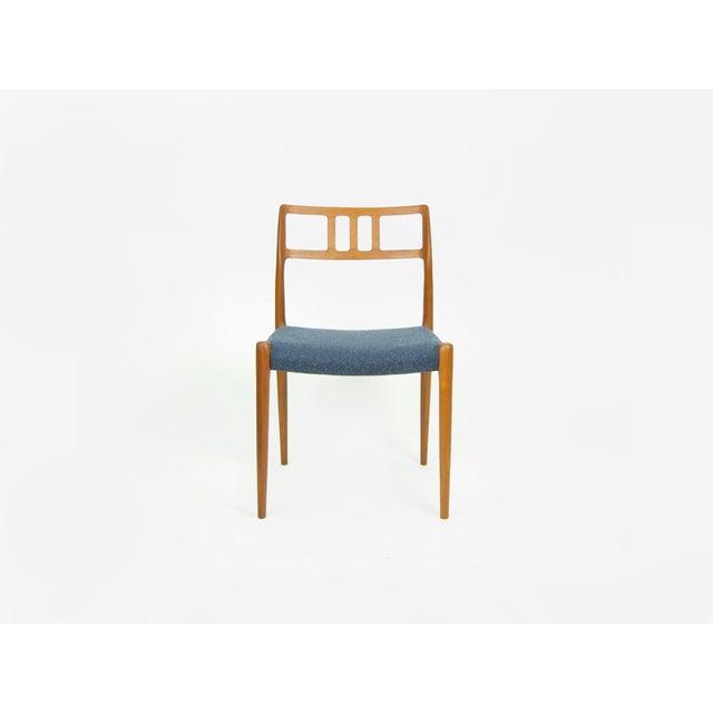 Danish Modern Niels O. Møller Teak Model 79 Dining Chairs - Set of 4 For Sale - Image 3 of 12