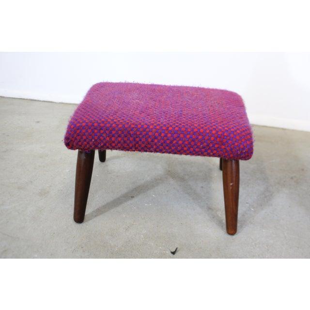 Wood Mid-Century Danish Modern Ohlsson Style Bramin Teak Easy Lounge Chair & Ottoman For Sale - Image 7 of 13