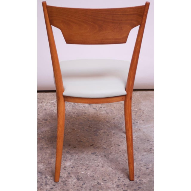 Stained Maple Dining Chairs by Paul McCobb for Perimeter - Set of 8 For Sale - Image 9 of 13