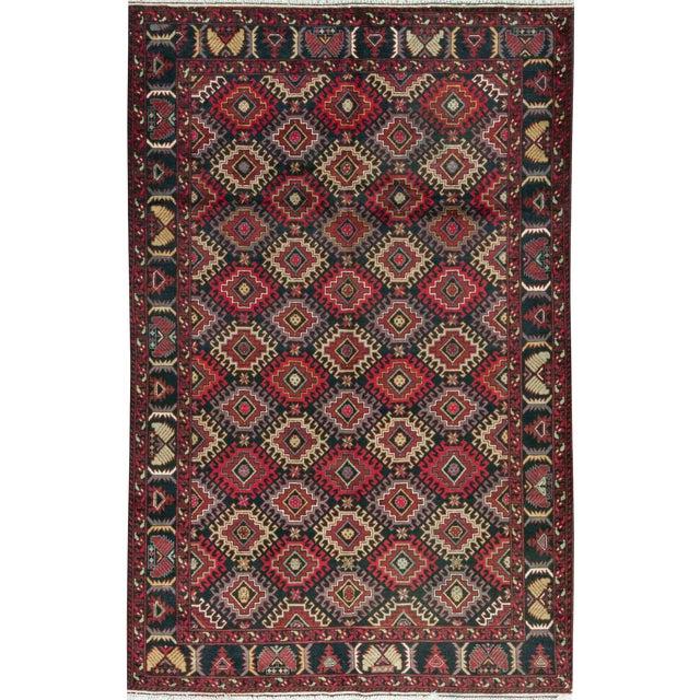 Pakistani Traditional Handwoven Rug - 6′6″ × 9′10″ For Sale