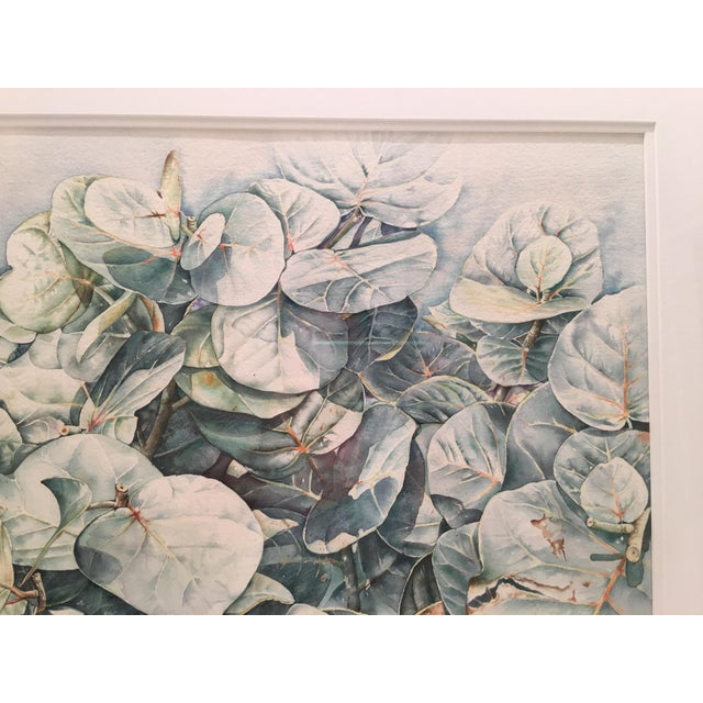 Watercolor Original Framed Watercolor Painting by Anna Chen For Sale - Image 7 of 9