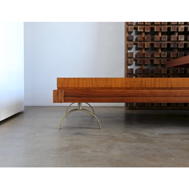 This is a Martin Borenstein sofa. This piece has been professionally restored.