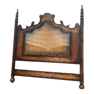 1970s French Colonial Queen Headboard For Sale