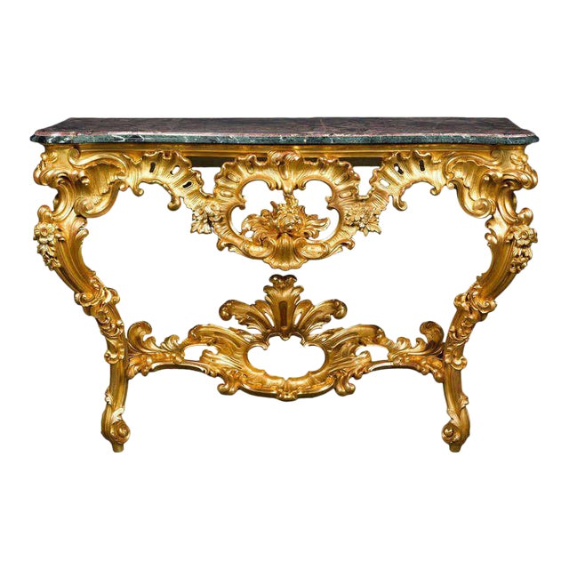 Louis XV Period Console Table For Sale