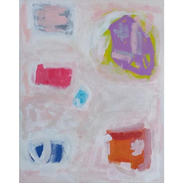 "Susie Kate Abstract ""Caroline"" Original Painting - Image 1 of 3"