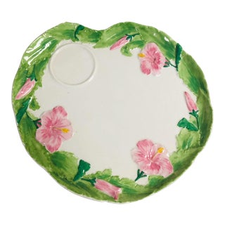 Ten Floral Italian Luncheon Plates For Sale