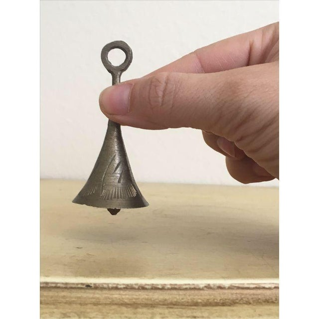 Petite Mid Century Brutalist Bell - Image 2 of 6