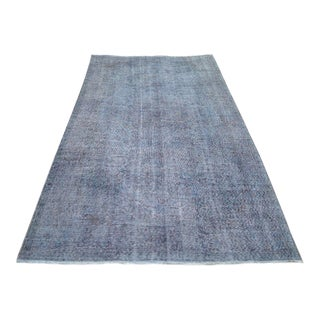 """Turkish Overdyed Patchwork Rug - 5' x 9'1"""" For Sale"""