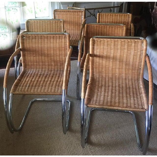 MCM Mies Van Der Rohe - Mr 20 Chairs - Set of 6 - Image 6 of 13