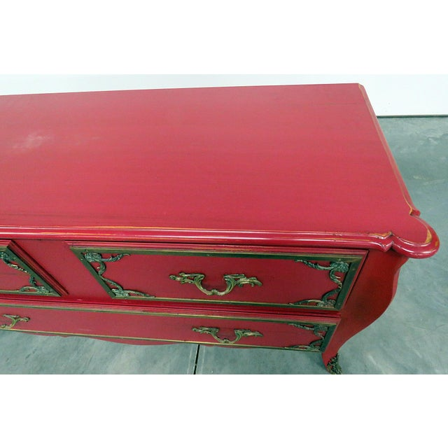 Roche Bobois Paint Decorated Commode For Sale In Philadelphia - Image 6 of 13