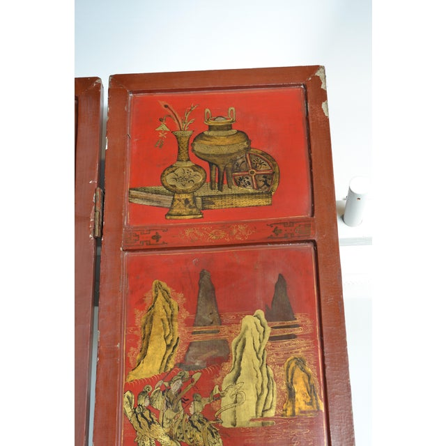 Mid 19th Century 19th Century Chinoiserie Screen For Sale - Image 5 of 9