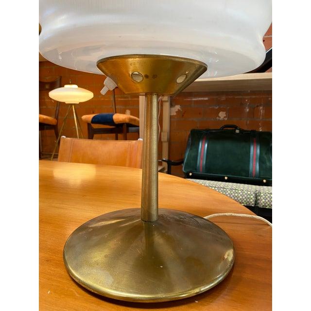 Metal 1970s Gaetano Sciolari Mid-Century Modern Italian Table Lamp For Sale - Image 7 of 10