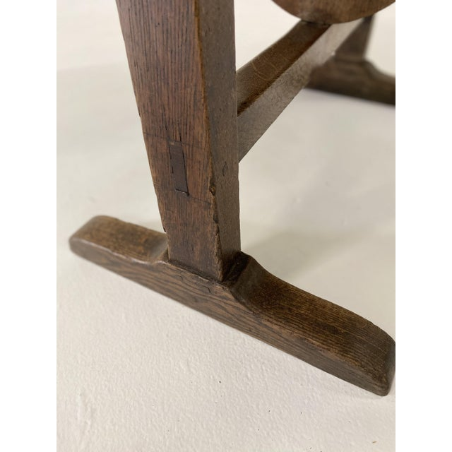 Brown 18th C. French Vendage Table For Sale - Image 8 of 11