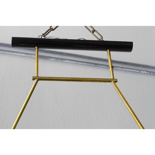 Gold Viale Chandelier by Fabio Ltd For Sale - Image 8 of 9