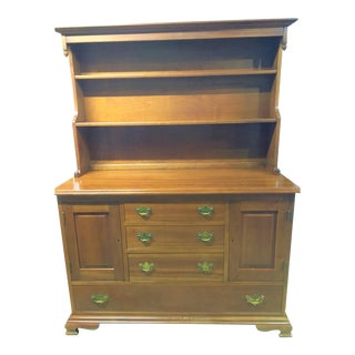 195 Traditional Stickley Hutch For Sale