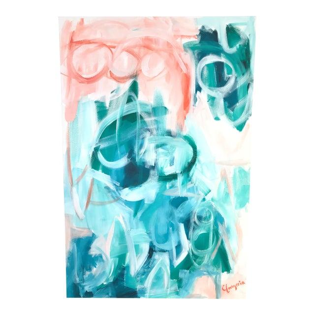 "Christina Longoria ""Saona"" Abstract Painting For Sale"