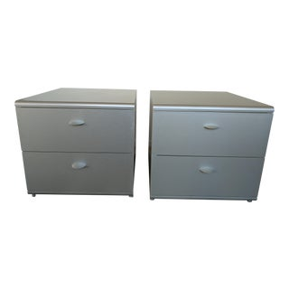 Jesus Gasca For Stua Spanish Two Drawer Side Tables - A Pair For Sale