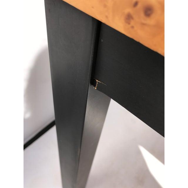 Milo Baughman Burl Wood Side/ End Tables - A Pair - Image 7 of 10