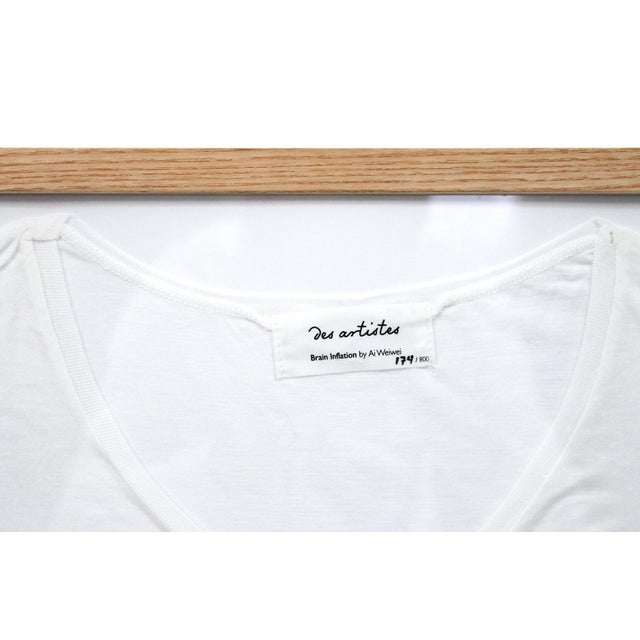 Contemporary Abstract Limited Edition Framed T Shirts by Ai Weiwei - a Pair For Sale - Image 11 of 13