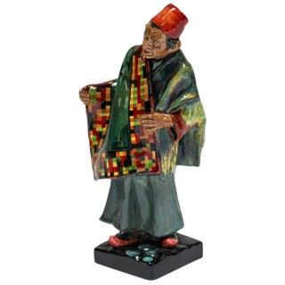 "Royal Doulton ""Carpet Seller"" Arab Decorative Porcelain Figurine For Sale"