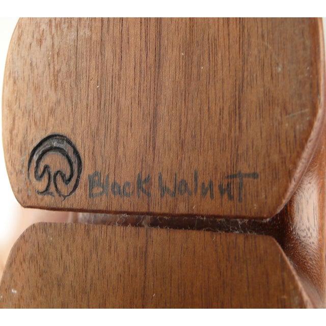 Walnut Fred Buss Black Walnut Puzzle Box For Sale - Image 7 of 7