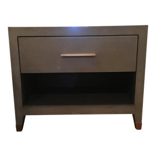 Contemporary Restration Hardware Nightstand For Sale