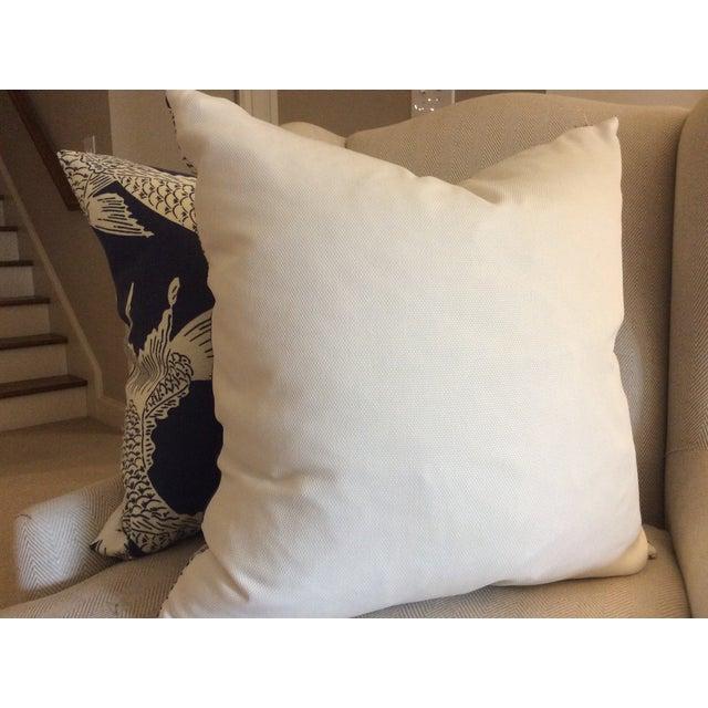 """Manuel Canovas """"Calypso"""" Navy Pillows - A Pair - Image 4 of 4"""